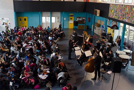Concert pédagogique Lycée Antonin Carême