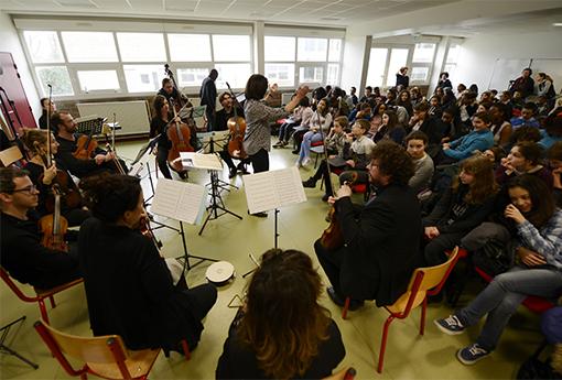 Concert pédagogique Lycée Daniel Balavoine
