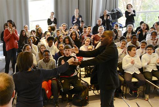 Concert pédagogique Collège Chantereine