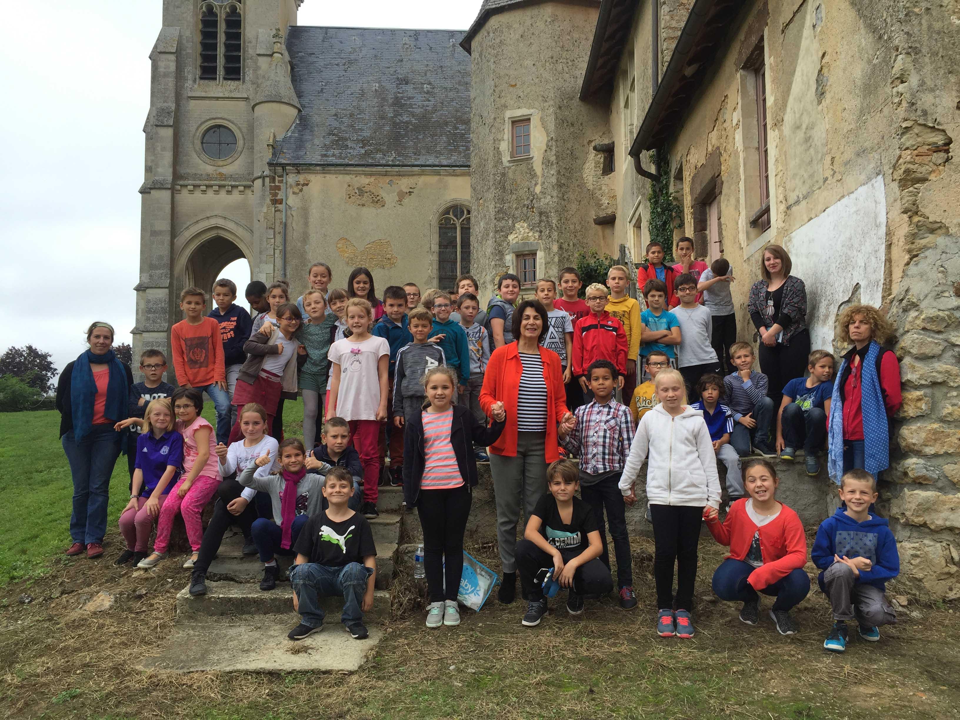Action pédagogique dans la Sarthe