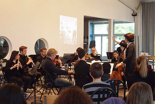 Concert pédagogique Lycée Jean Vilar