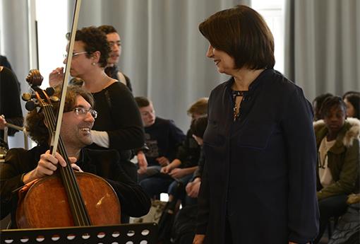 Concert pédagogique Lycee Condorcet