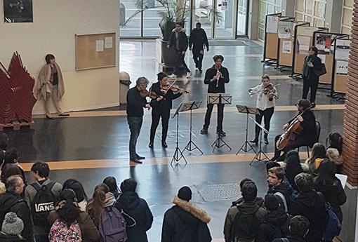 Concert pédagogique Lycée Nicolas Joseph Cugnot