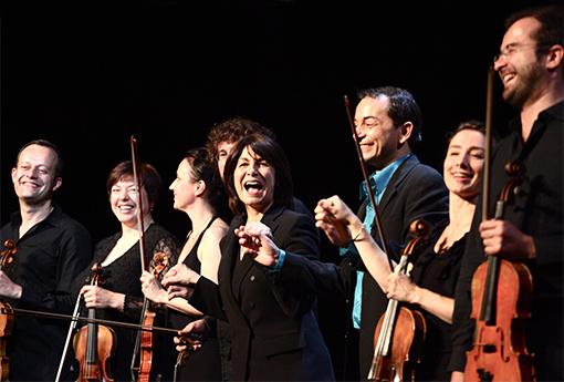 Claire Gibault Eric Genovese et le Paris Mozart Orchestra