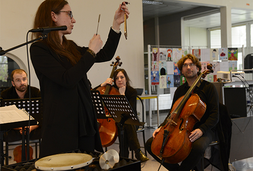 Concert pédagogique Collège Albert Schweitzer