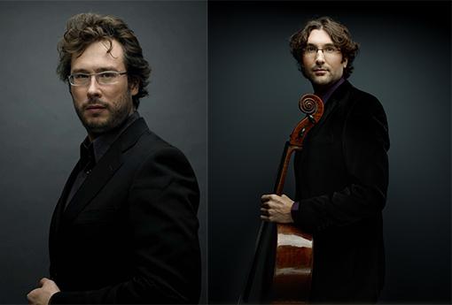 Eric Lacrouts et Guillaume Martigné