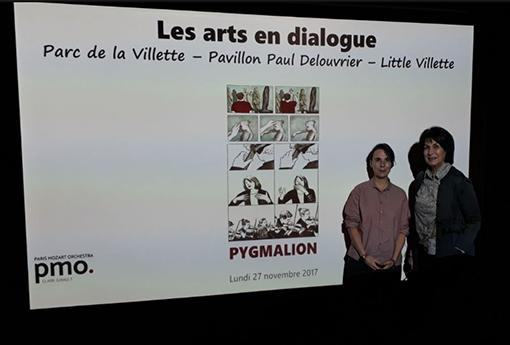 les arts en dialogue sandrine revel claire gibault