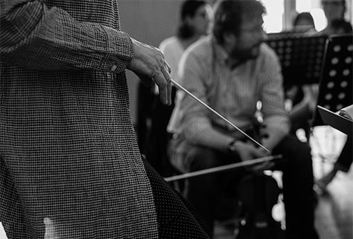 Masterclass de direction d'orchestre Claire Gibault