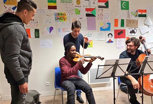 rencontre musicale et solidaire